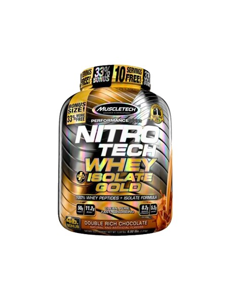 MuscleTech - NITRO-TECH Whey Plus Isolate Gold