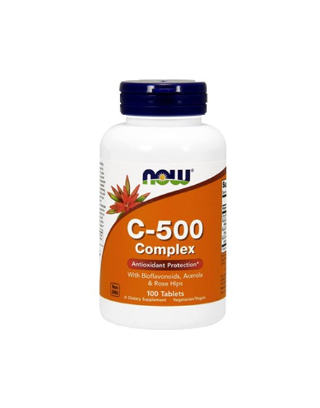 NOW Foods - C-500 | C 500 mg With Rose Hips